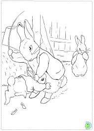 peter rabbit coloring pages download print free