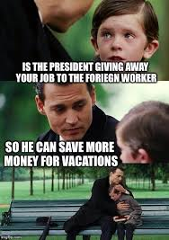 Finding A Job Meme - finding vacation neverland imgflip