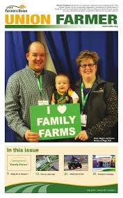 may union farmer 2016 by north dakota farmers union issuu