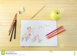 football writing paper drawing of a child eating apple stock photo image 70950137 drawing of a child eating apple stock photo
