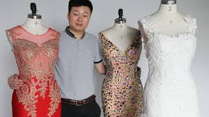 wedding dressing gowns wedding dress exporter finds success by being fast