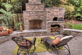 Outdoor Fireplace Surround by Fireplaces Patio Traditional With Stone Fireplace Surround Willow