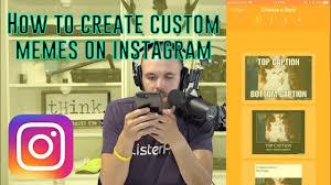 Custom Memes - how to create custom memes for instagram on iphone youtube