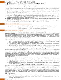 Sample Marketing Consultant Resume Resume Samples For Sales And Marketing Jobs