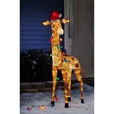 time 52 3d tinsel giraffe walmart
