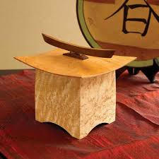 Free Wooden Keepsake Box Plans by Pagoda Box Woodworking Plan From Wood Magazine