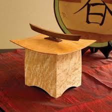 pagoda box woodworking plan from wood magazine