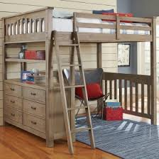 Girls Twin  Full Loft Beds Girls Desks  Storage Lofts - Girls bunk bed with desk