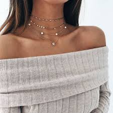 girl wear necklace images How to style choker necklace amazing outfit ideas jpg