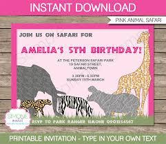 party invitation template animal u2013 orderecigsjuice info