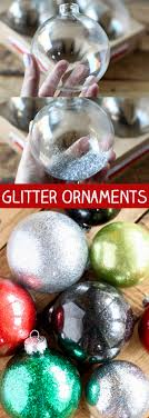 diy glitter ornaments for no 2 pencil