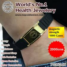 germanium magnetic health bracelet images Anti radiation anti fatigue negative ion health bracelet jpg