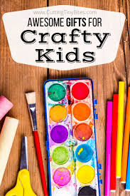 Awesome Gifts For Crafty Kids Crafty Kids Boy Toddler And Art