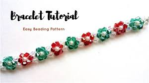 bead tutorials crystal bracelet images Crystal beads bracelet jewelry making tutorial 10 minutes diy jpg