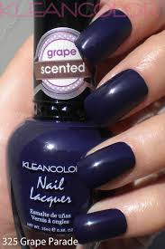 325 grape parade scentedpolish fragrancepolish scented nail