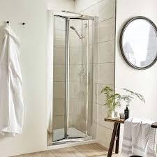 Standard Size Shower Door by Pacific Bi Fold Shower Door At Victorian Plumbing Uk