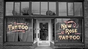 American Flag Tattoos Black And Grey Portland Tattoo Parlor New Rose Tattoo