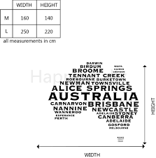 Australian Map Wall Sticker Map Picture More Detailed Picture About Australian