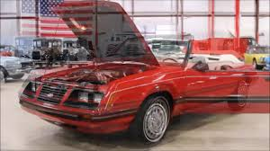 1983 mustang glx convertible value 1983 ford mustang