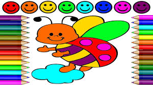 ladybug coloring page how to draw ladybug and coloring game