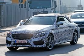 hardtop convertible cars new mercedes c class convertible keeps it under canvas for 2016 by