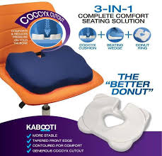 kabooti orthopedic coccyx seat cushion contour living