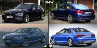 audi a4 comparison benim otomobilim 2016 audi a4 vs 2016 bmw 3 series interior