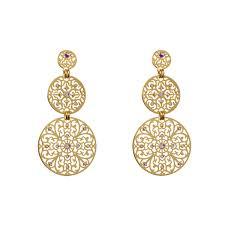 earing stud shiyaya earring stud gold gold quartz shiyaya