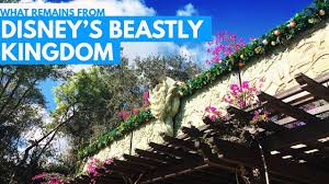 what remains from disney s beastly kingdom of