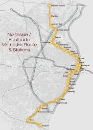 Link Light Rail Map Northside Southside Metrolink Expansion And Transforming Transit