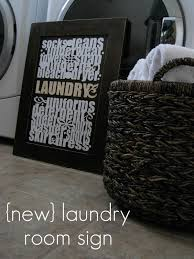 Laundry Room Decorating Accessories by Ginger Snap Crafts Omtwi Round 2 New Laundry Room Sign