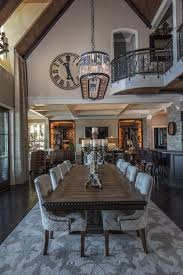 this bellevue family s romantic stone home evokes old world europe the baronial grand hall under a 26 foot ceiling has formal elements