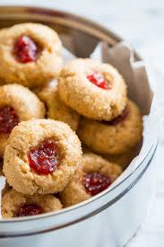 linzer thumbprint cookies healthy seasonal recipes