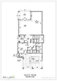 Italian Villa Floor Plans Bloom Gardens Villas Floor Plans Bloom Gardens Abu Dhabi