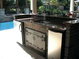 inexpensive outdoor kitchen ideas cheap outdoor bbq kitchens huetour club