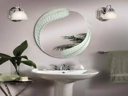 Decorating Ideas For Bathroom Mirrors Bathroom Mirror Designs Gurdjieffouspensky Intended For