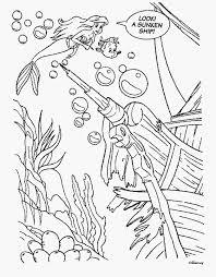 kids fun 34 coloring pages ariel mermaid