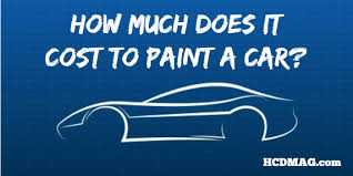 Average Cost For Interior Painting How Much Does It Cost To Paint A Car 3 Actual Estimates