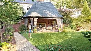 Backyard Room Backyard Decorating Ideas English Garden Folly Southern Living