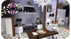 the sims 4 room build parisian boho inspired kitchen u0026 dining