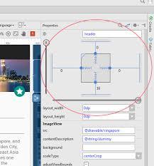 layout en español como se escribe como manejar la alineación de elementos view en constraint layout