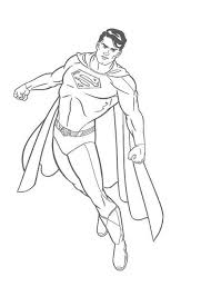 Free Superman Coloring Pages Superman Coloring Pages For Print Superman Coloring Pages Print