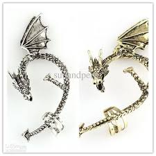 different types of earrings wholesale style style heavy metal snake shaped