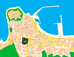 Crete Map Map Of Rethymnon Rethymno Rethimnon Rethimno Festos Knossos