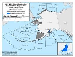 Where Is Alaska On The United States Map by Alaska Ocs Region Boem