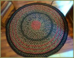 Red Round Rug Circle Rugs Cheap Roselawnlutheran