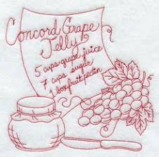 Machine Embroidery Designs For Kitchen Towels by Hand Embroidery Pattern 7598 Vintage Recipes For Tea Towels 60s