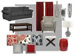 Red And Black Living Room Decor Captivating Red Gray And Black Living Rooms And 7 Small Room Ideas