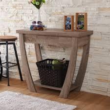 Contemporary Entryway Table Modern Contemporary Console Sofa Tables You Ll Wayfair