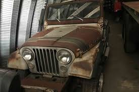 brown jeep cj7 renegade 1 of 1 000 1979 jeep renegade silver anniversary